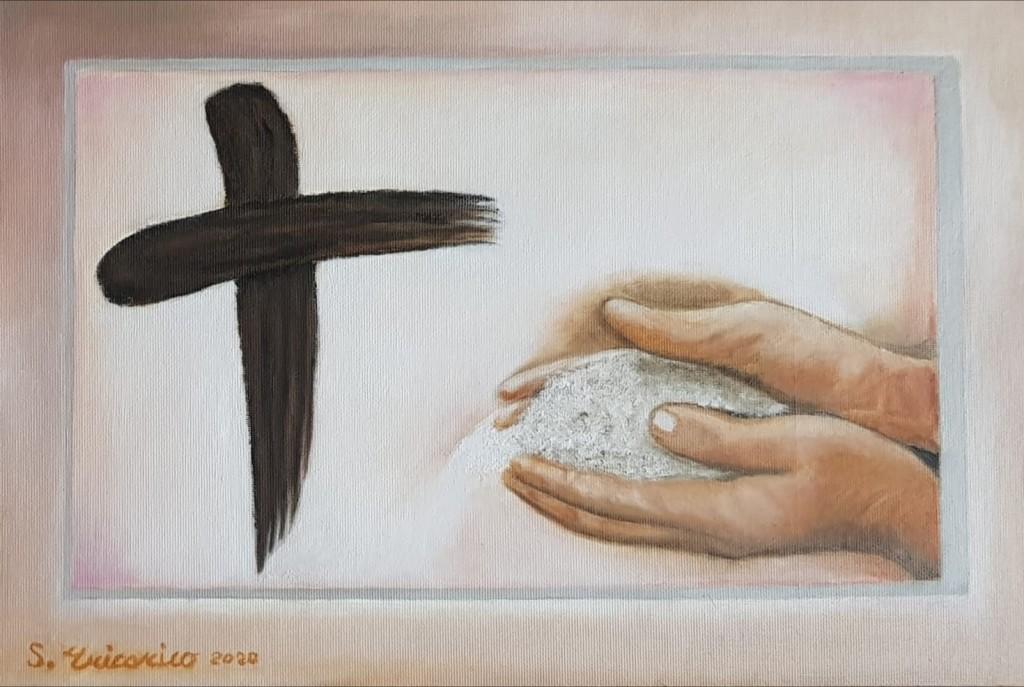 La Croce e il pane Eucaristico